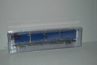 Atlas General American Combo 85' Trash Container Flat Car N Scale