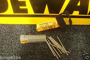 PACK OF 10 X DT5537 DEWALT EXTREME 2   2MM  H