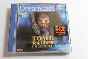 Tomb Raider Chronicles  Sega Dreamcast UK PAL New Factory Sealed
