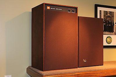 Original Jbl Russet Brown Fabric Studio Monitor 4310 4311 4312 Speaker Grilles