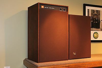 Original Jbl Russet Brown Fabric Studio Monitor 4310 4311 4312 Speaker Grilles