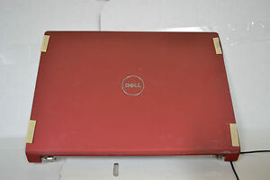 NEW Dell Studio 1735 1737 LCD Back Cover & Hinges P558X 0P558X & Power Buttons
