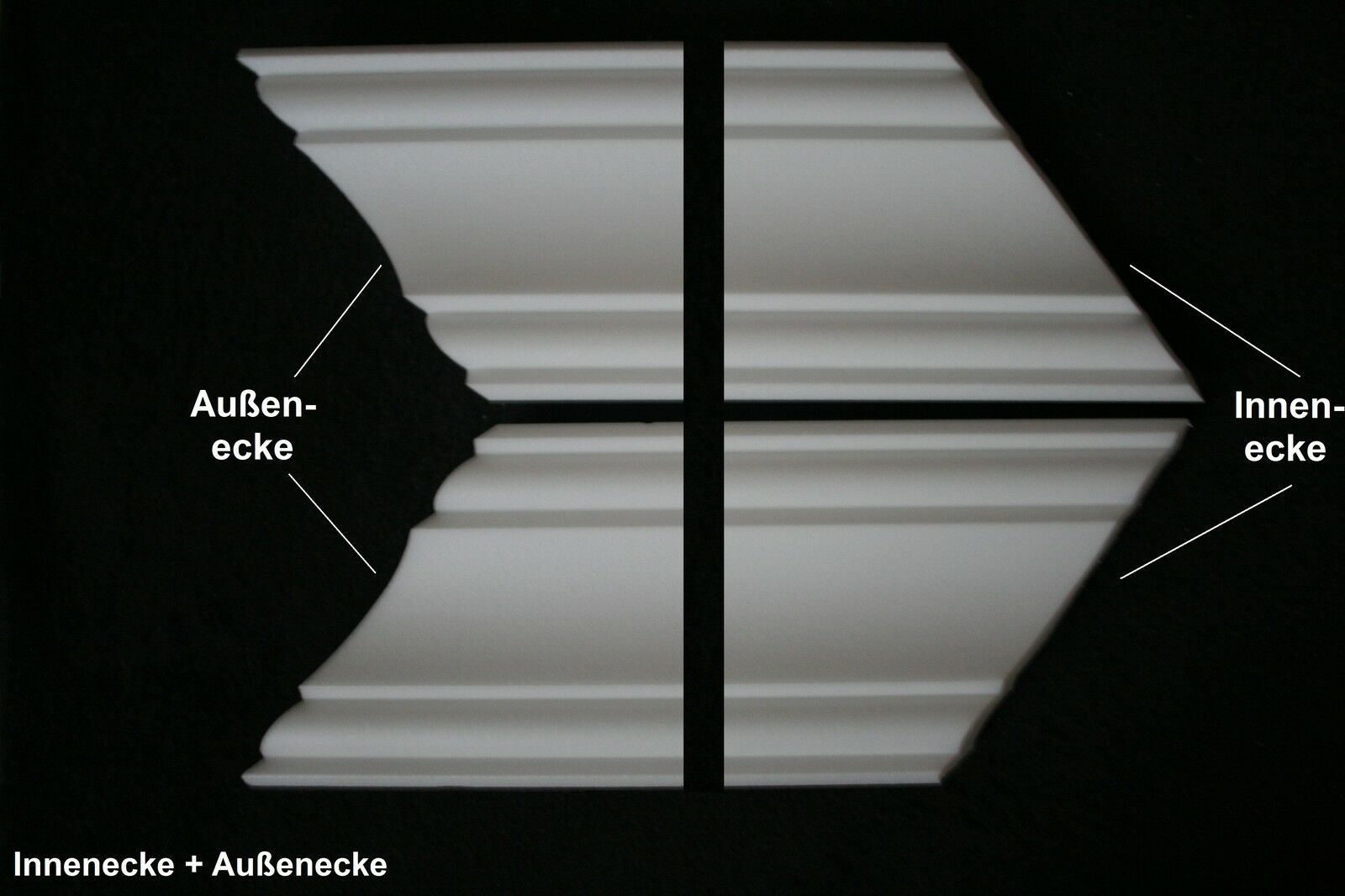 50 meter 10ecken zierprofile styroporleisten eckprofile stuck zierleisten ky50 eur 74 50. Black Bedroom Furniture Sets. Home Design Ideas
