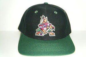Phoenix Coyotes  Vintage Snapback Hat NWT Authentic Cap Made by Twins rare !!