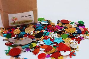 Multi-Sequins-Mixed-bag-of-Confetti-Sequins-Spangle-250g