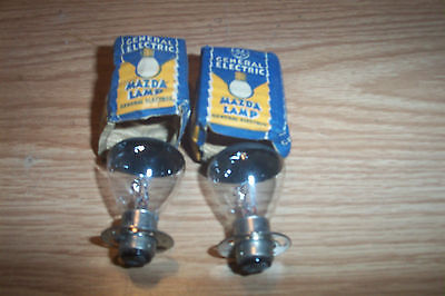 2 NOS HEADLIGHT BULBS FOR MOPAR,HUDSON,NASH,CORD,BIG TRKS.1936-42  #2331