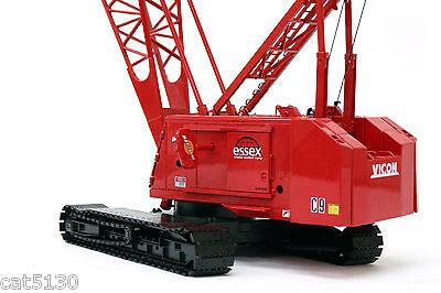 Manitowoc 4100w Crawler Crane - essex - 1/50 - Twh 049-01118