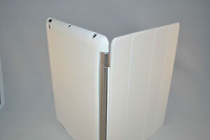 White-Slim-Magnetic-Smart-Front-Cover-Silicone-Back-Case-for-Apple-iPad-2-3