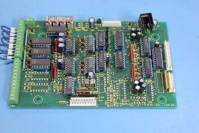 Semitool 16818a 16818 4 Channel Overtemp Module Board