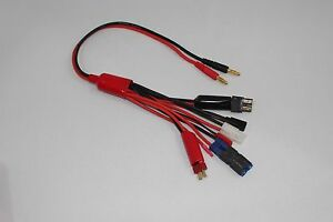 Multi-Charge-Connectors-RC-Charging-Cable-I-PLUG-TAMIYA-T-PLUG-JST-FUTABA