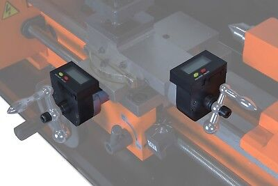 Wen 3452a 2-axis Digital Readout Kit For Metal Lathes