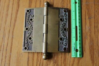 Brass Hinge Sargent & Co New Haven Large 5