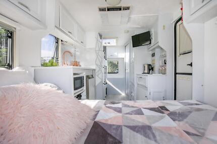 Wanted: Caravan for Hire. Delivered to site. $110 per night!