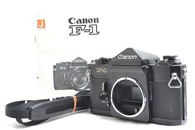 [Near Mint] Canon F-1 35mm SLR Film Camera Body w/Strap, Manual from Japan #0513