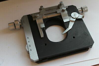 Pzo Microscope Stage Table Mikroskop