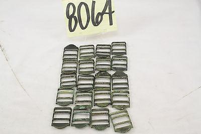 20 Ww2 Us Brass Buckle Adjusters