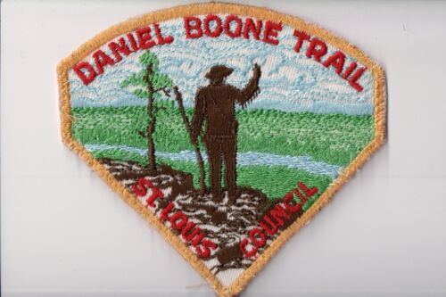 BSA Patch, Daniel Boone Trail, St. Louis Council