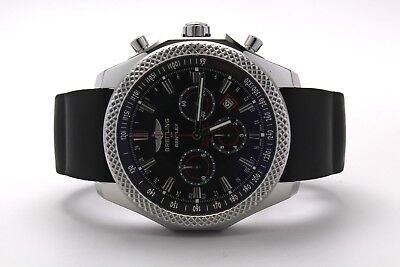 Breitling for Bentley 49mm Barnato A25368 Black Dial Recently Serviced