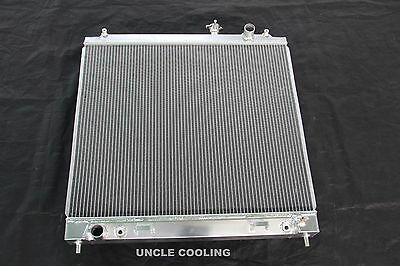 3 Row Fit NISSAN TITAN INFINITI QX56 56 V8 VK56DE 04 12 all aluminum radiator