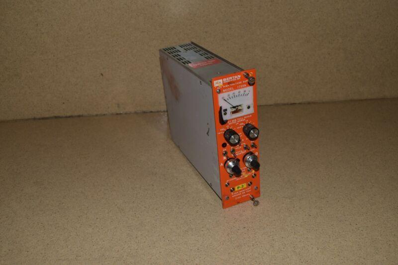 BERTAN 5KV HIGH VOLTAGE SUPPLY MODEL 1755N  NIM BIN MODULE (TP285)
