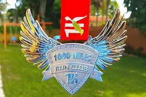 RUN 1000 MILES CHALLENGE FINISHERS MEDAL 4.5