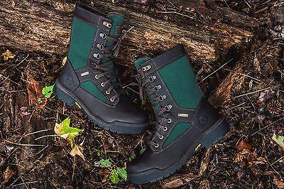 TIMBERLAND® MENS WATERPROOF 40 BELOW TALL FIELD BOOT GORE-TEX® BEEF BROCCOLI USA Timberland Mens Field Boot