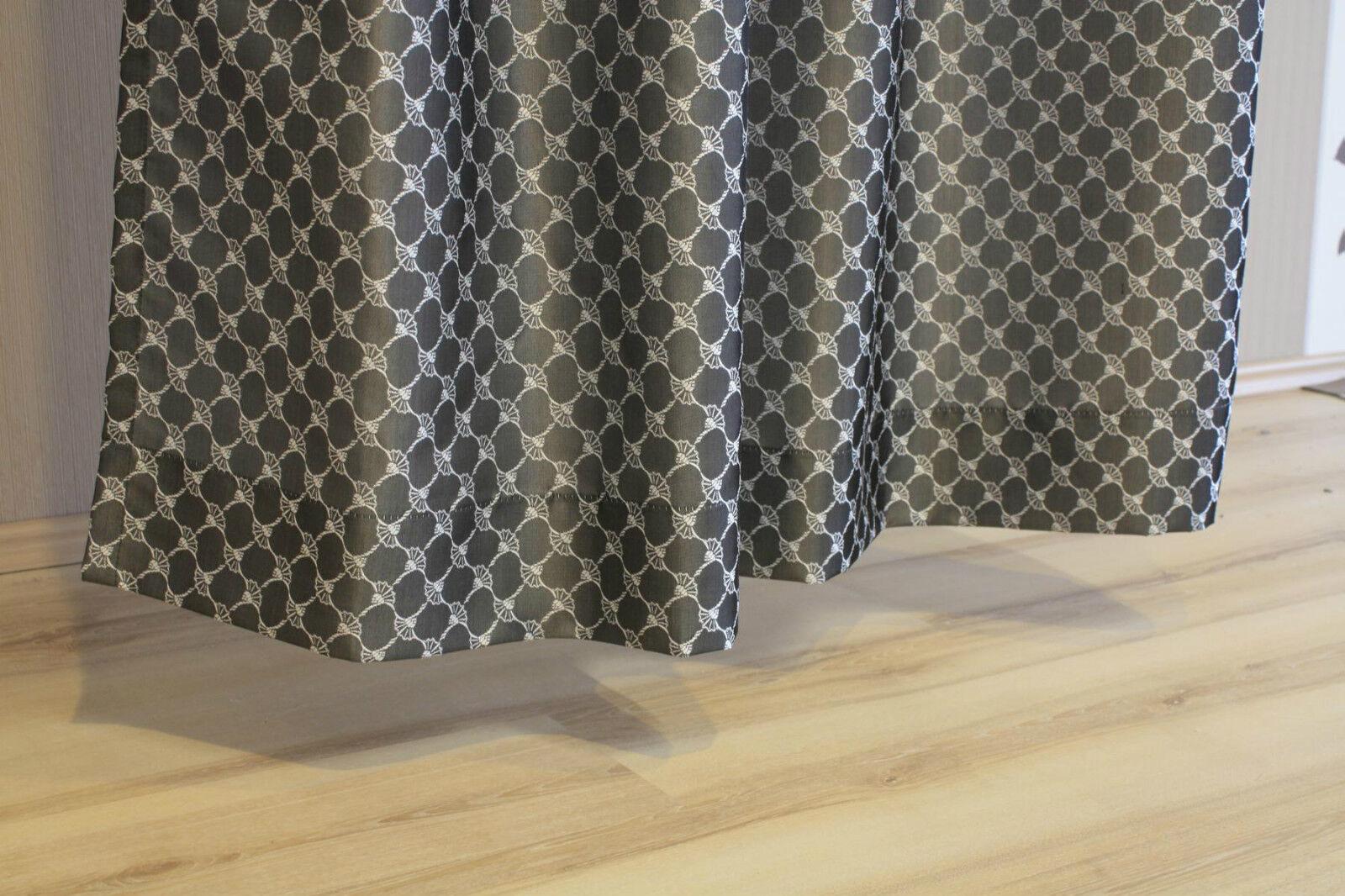 joop gardine vorhang senschal allover 010 grau 140x250 cm fertigschal eur 66 45 picclick de. Black Bedroom Furniture Sets. Home Design Ideas