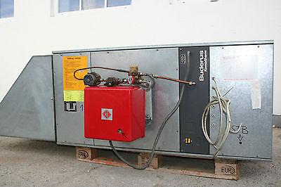 Hallen Heizgerät / Warmlufterzeuger Hallenheizung DIN 4794 - Buderus LA040.3