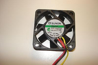 FS Case Fan 40mm x 40mm x 10mm 12V 0.16A 9.5 CFM 8000 RPM 3-Pin Bulk Lot of 5