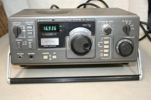 Kenwood R-1000 Shortwave Communications Receiver AM SSB CW Ham Radio