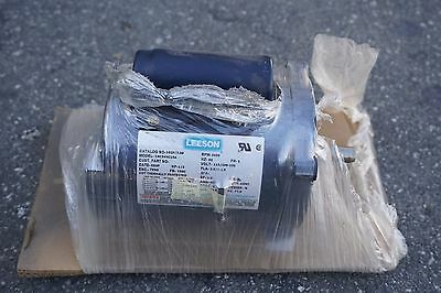 Leeson 13 Hp 3450 Rpm S56c Frame 115208-230 102873 Single Phase Electric Motor