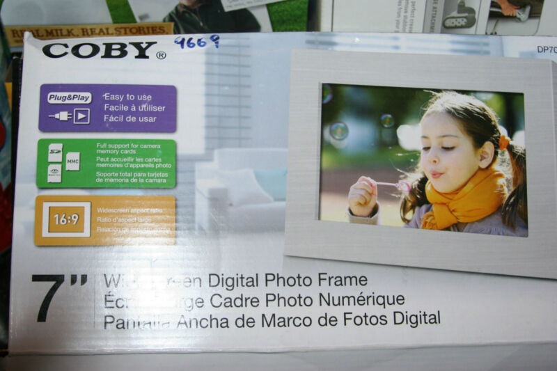 coby digital frame Free Shipping