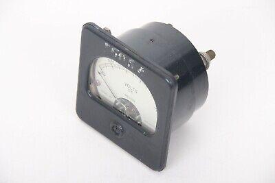 Vintage Weston Direct Current Volts Panel Meter Gauge 0-500 Model 301 1000volts