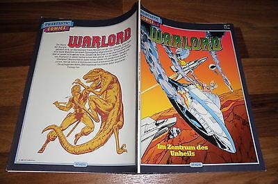 DIE GROßEN PHANTASTIC COMICS # 55 -- WARLORD // im ZENTRUM des UNHEILS / 1987