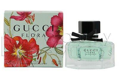 Gucci Flora by Gucci 1.0oz / 30ml Eau De Toilette Spray NIB Sealed For (Flora By Gucci Eau De Toilette 30ml)