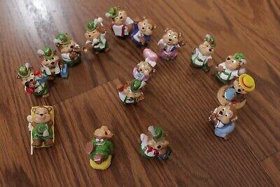Kinder Vintage Toy Lot Bear Music Band Cupcake Cake Toppers Kids Party Decor](Cake Toppers Kids)
