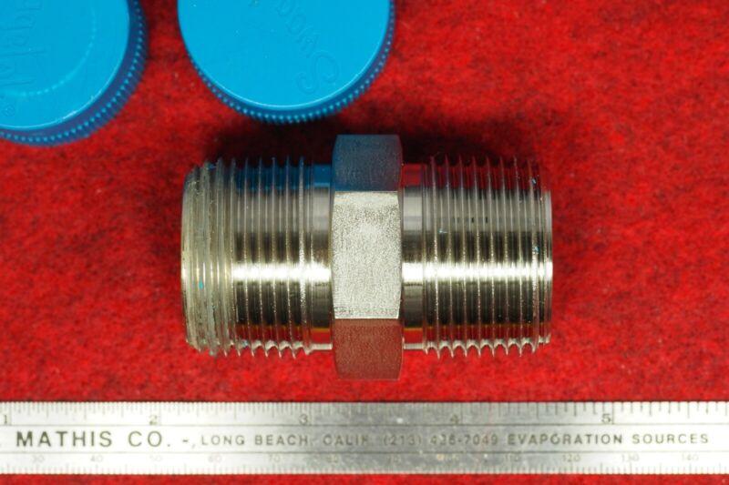 "Swagelok 1"" NPT  316ss Hex Nipple Pipe Fitting SS-16-HN"