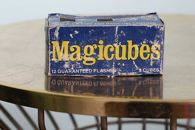 Vintage Magicubes Flash Cubes Photo Unopened Sealed New Unused Box Photography