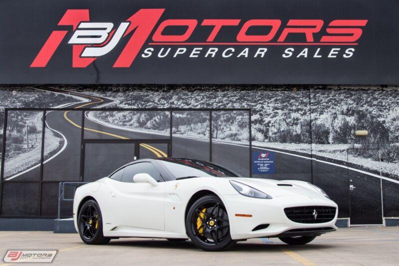 Image 1 Voiture Européenne d'occasion Ferrari California 2010