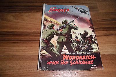 LANDSER # 18 -- WORONESCH war ihr SCHICKSAL // Original-Druck 1960er