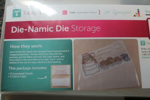 Totally Tiffany Die-Namic Die Storage NEW