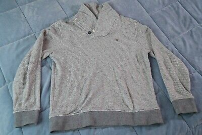 Tommy Hilfiger Sweater Mens Gray Medium