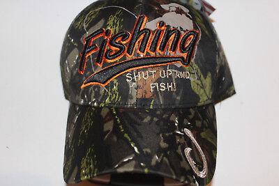 Anglerkappe Cap Kappe Mütze Camouflage Fishing Angler Mütze Angeln # 83
