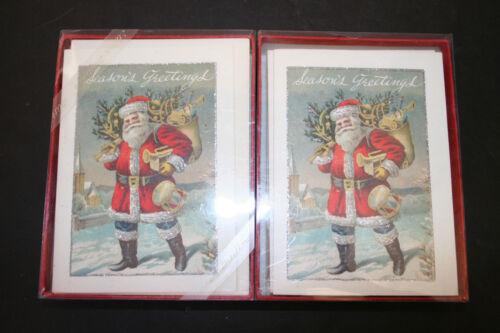 Cavallini & Co Christmas Cards 2 Boxes Containing 20 Cards & Envelopes NOS