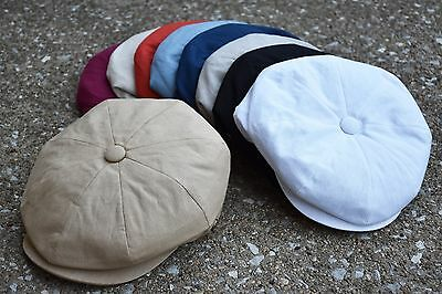 Mens Newsboy Cap, Cabbie, Driving, Light Weight Applejack Cotton Cap EPnsb2412
