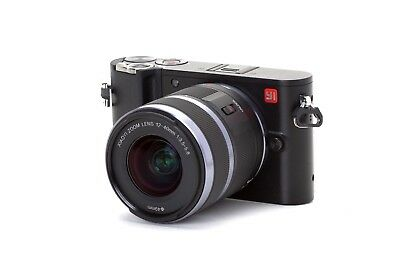 YI M1 4K Mirrorless Camera with 12-40mm F3.5-5.6 Lens Storm Black