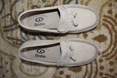 Dexter Comfort Shoes Women tan suede leather soft Clean size 6