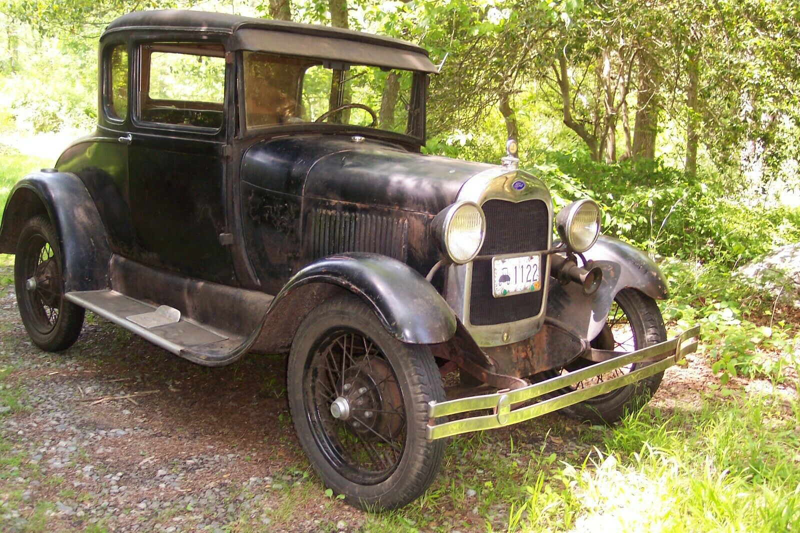 1929 Model A Ford Coupe