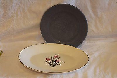 Vintage Porcelain Oval Platter and 1 Furio Plate