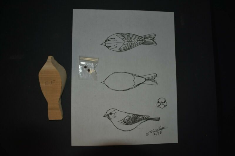Goldfinch, bird carving, carving blanks, patterns, carving kits, wood carving